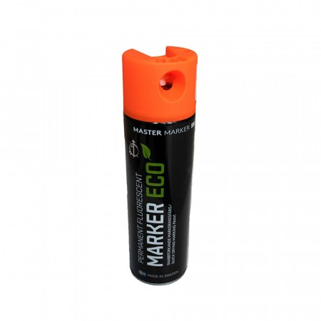 ECO Master Marker Permanent Fluorescent Orange